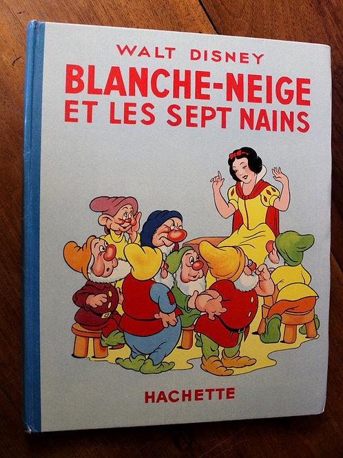 Walt Disney. Blanche-Neige et les sept nains. Paris, 1938. Superbe état. Rare