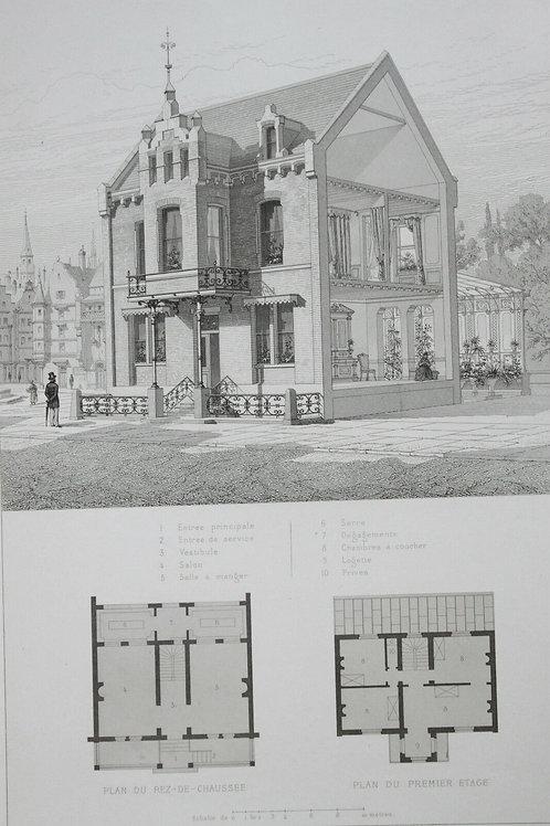 Architecture Viollet-le-Duc Habitations Modernes MAISON PRIVEE LA HAYE HOLLANDE
