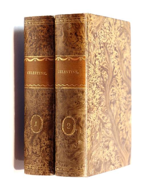 Bellin de La Liborlière. Célestine (1799-1800). Roman gothique. Rare