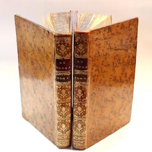 Crébillon fils. Le Sopha (1742). Edition originale. Bel exemplaire. Littérature