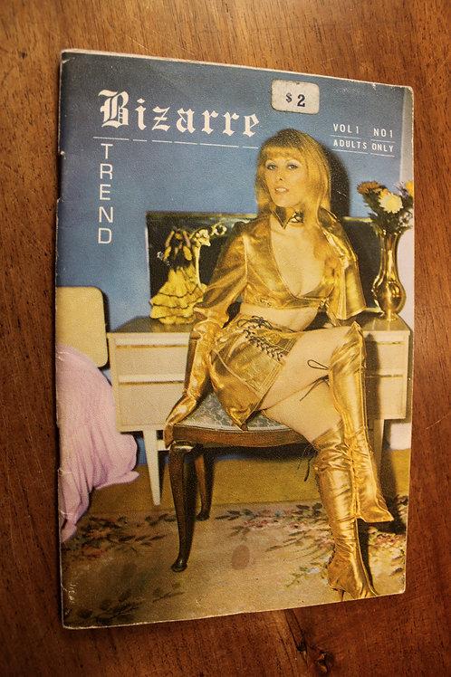 BDSM revue vintage anglaise. BIZARRE TREND. Vol 1. N°1. Rare