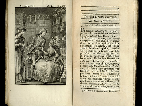 Rétif de la Bretonne. Les Contemporaines ou Aventures des plus jolies Femmes.