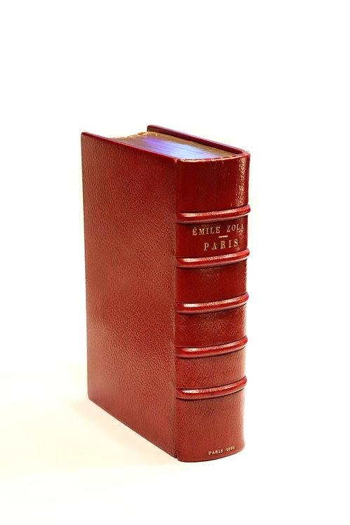 Emile Zola. Paris (1898). Edition originale. Un des 300 ex. sur Hollande superbe