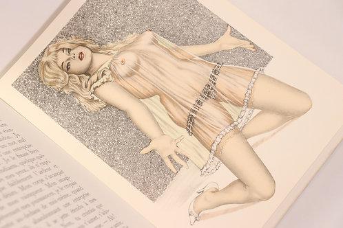 Les Amours d'Éléonore.Illustrations de Alain DUMOND. 1963. Suite + planches ref