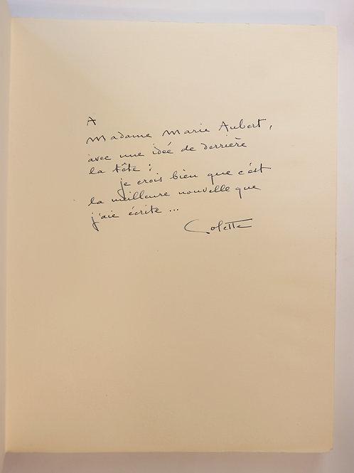 Colette. Bella-Vista (1947). Bel envoi autographe. 1/250 ex.