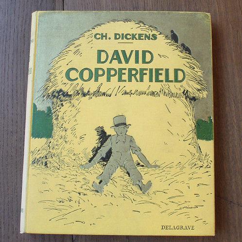 1937 David Copperfield Dickens cartonnage illustré livre jeunesse enfantina