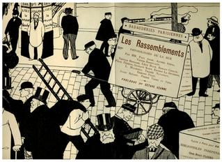Félix Vallotton, Octave Uzanne, et les Badauderies parisiennes ou Les Rassemblements [...]