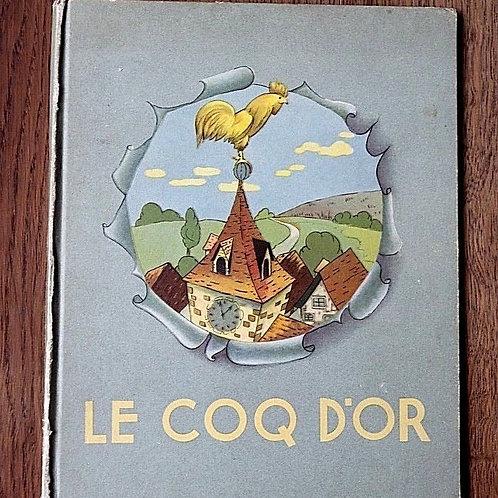 Le Coq d'Or Nelson illustré Bukac Conte livre enfant vintage enfantina