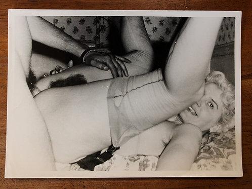 Photographie Amateur Vintage X (vers 1965). Renversée ...