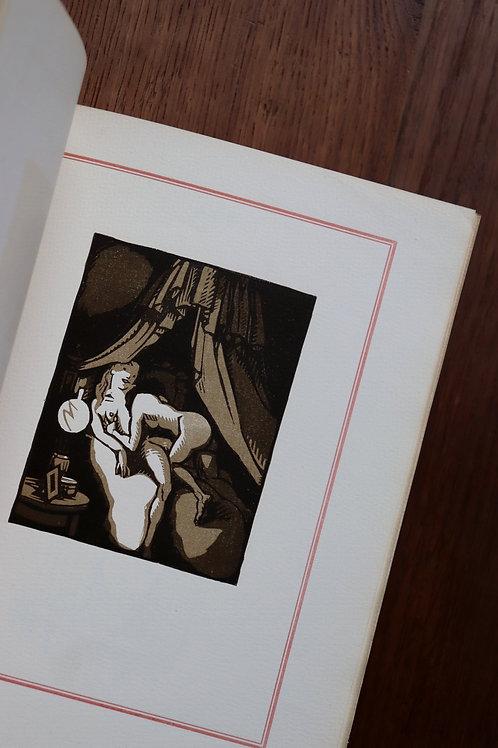 Paul Verlaine. Daragnès. Les Amies (poésies saphiques). 1919. 1/250 ex. Reliure