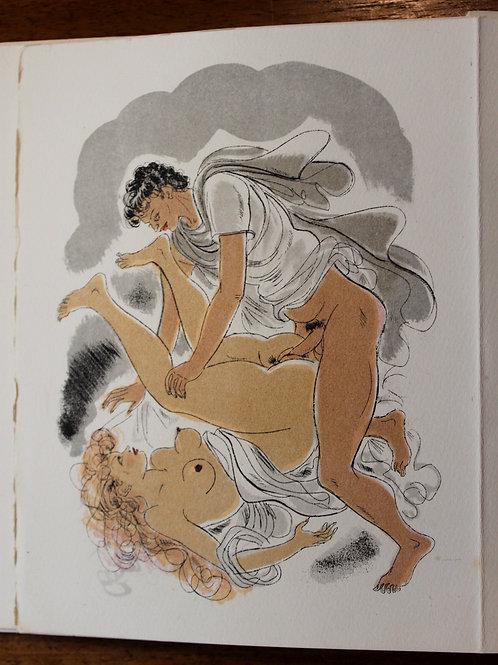 La Porte de l'Âne. Lithographies originales de Schem (vers 1940). 1/300