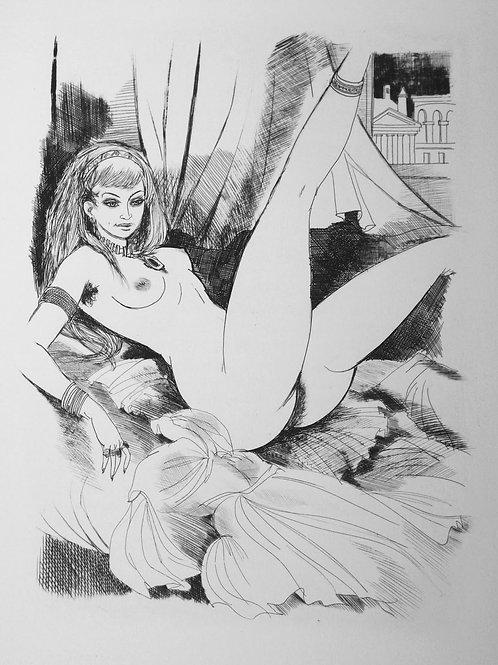 Le Satyricon de Pétrone illustré par Gaston Barret (1960)