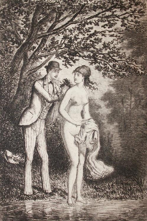 Les Joyeuses Nouvelles et Entre Messes et Vêpres par Marc de Montifaud (1880)