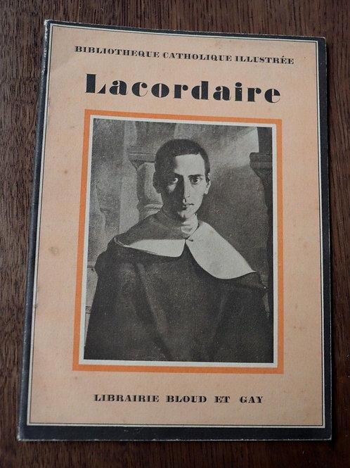 1932 Lacordaire Zeller Bibliothèque catholique Religion biographie