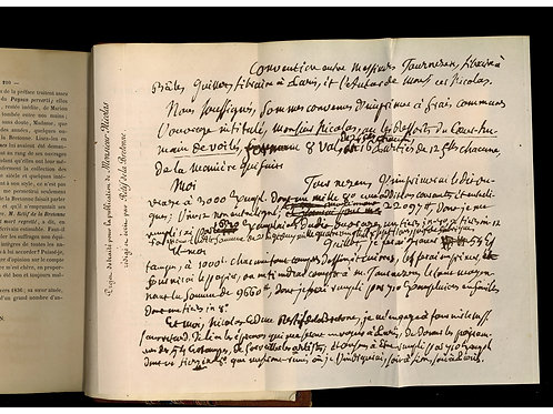 Rétif de la Bretonne par Charles Monselet (1858). 1 des 20 ex. sur papier rose.