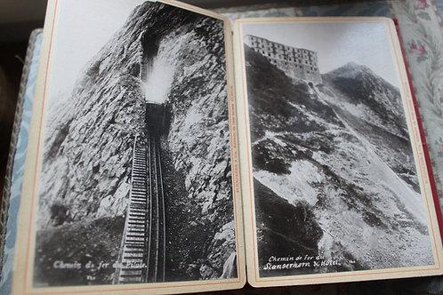Suisse. Lac des 4 cantons. Album Touristique. 20 photographies originales (1890)