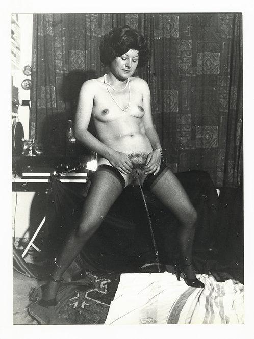 Photographie Amateur Vintage Nu féminin vers 1965. Ref. 979