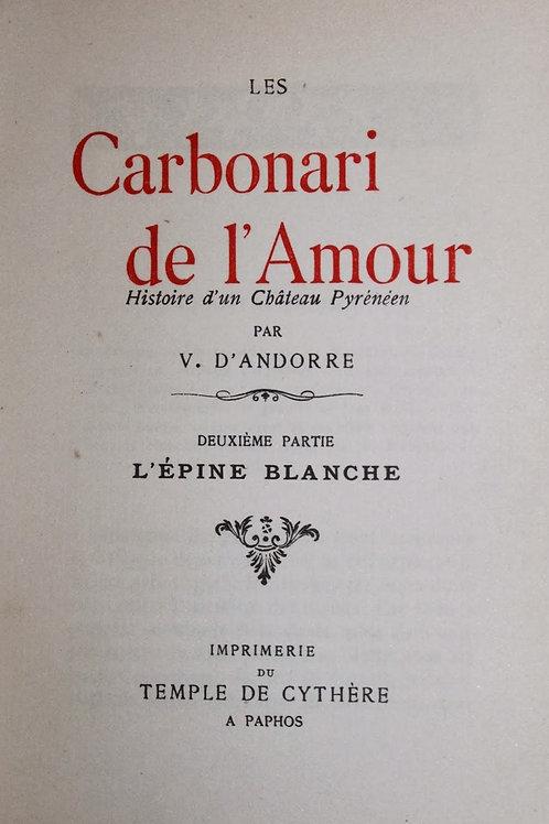 Les Carbonari de l'Amour (1905). Roman pornographique rare