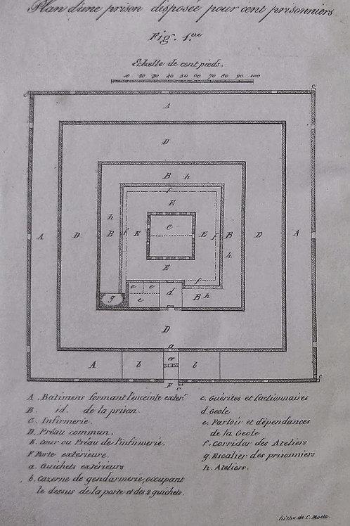 Des Prisons, de leur Régime et des Moyens de l'améliorer par Danjou (1821)