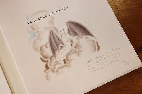 Jacques Cazotte. Maurice Leroy. Dan Sigros. Le Diable amoureux (1946). Dessin