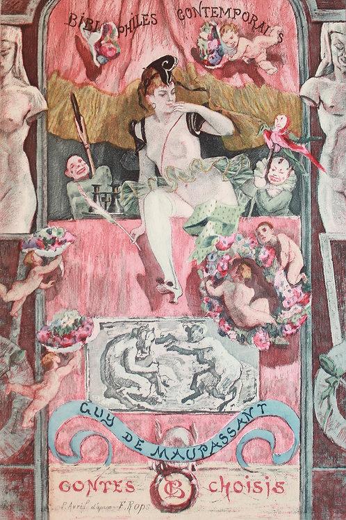 Les Contes choisis de Maupassant (1892) pour les Bibliophiles Contemporains