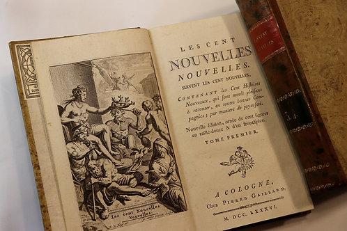 Les Cent Nouvelles Nouvelles (1786) avec 100 vignettes par Romain de Hooghe