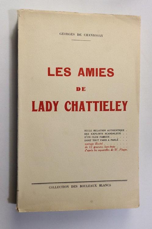 1935 Chanrosay Amies de Lady Chattieley fessée spanking