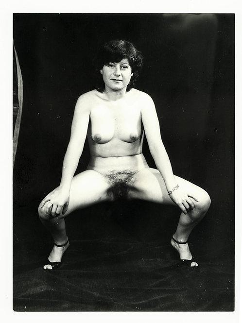 Photographie Amateur Vintage Nu féminin vers 1965. Ref. 945