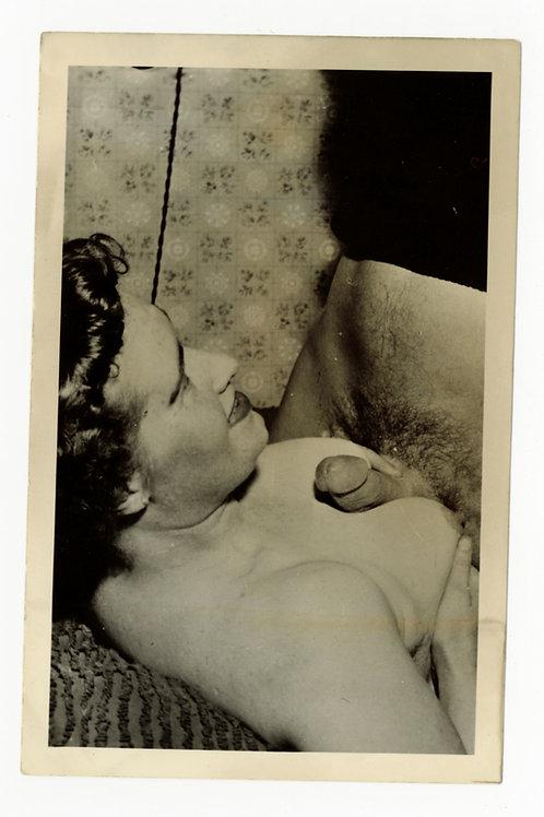 Photographie argentique originale X amateur (vers 1950-1960). 14 x 9 cm. Ref Y10