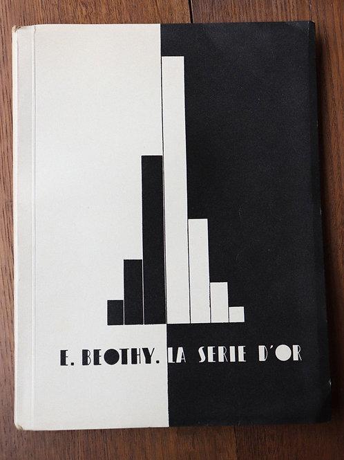 1932 La Série D'Or Beothy Eo N° art mathématique morphologie structures sciences