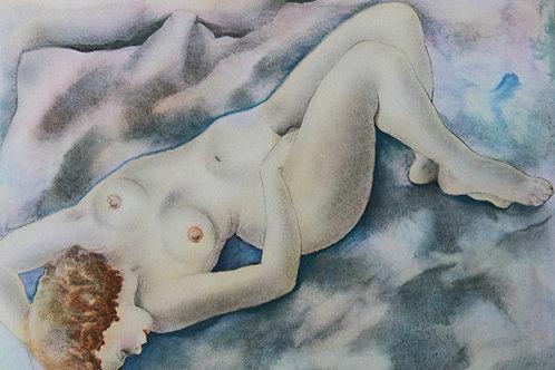 Mariette Lydis. Estampe érotique (1935). Nu (4)