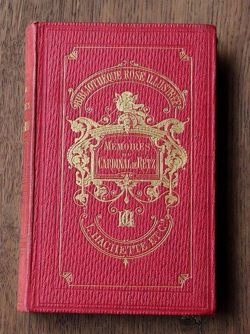 1866 Mémoires Cardinal De Retz Feillet Bibliothèque rose illustré