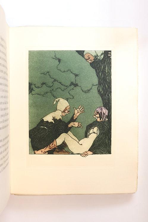La Fleur des Cent nouvelles Nouvelles. 45 eaux-fortes par Stall (1930). 1/20 ex.