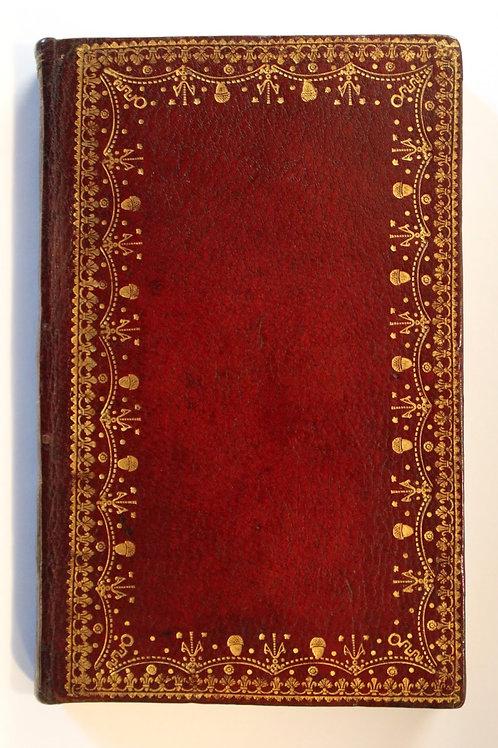 Les Amours pastorales de Daphnis et Chloé par Longus (1745) en maroquin décoré.