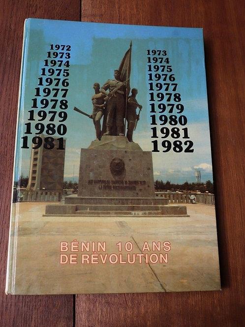 vers 1982 Bénin 10 ans de révolution Baba-Moussa révolution populaire Afrique