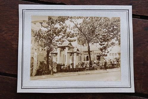 Paris 1900 Photographie ancienne Pavillon Asie Exposition Universelle 1900