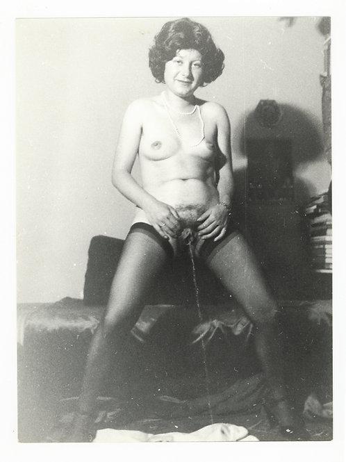 Photographie Amateur Vintage Nu féminin vers 1965. Ref. 958