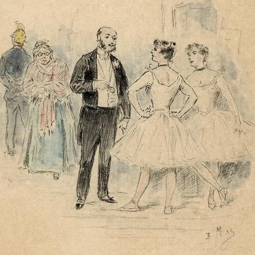 Ludovic Halévy. La famille Cardinal. 1883. Exemplaire Octave Uzanne.