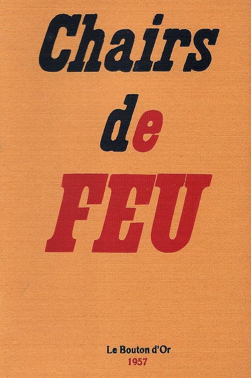 Chairs de Feu (1957). Publication érotique clandestine par Eric Losfeld