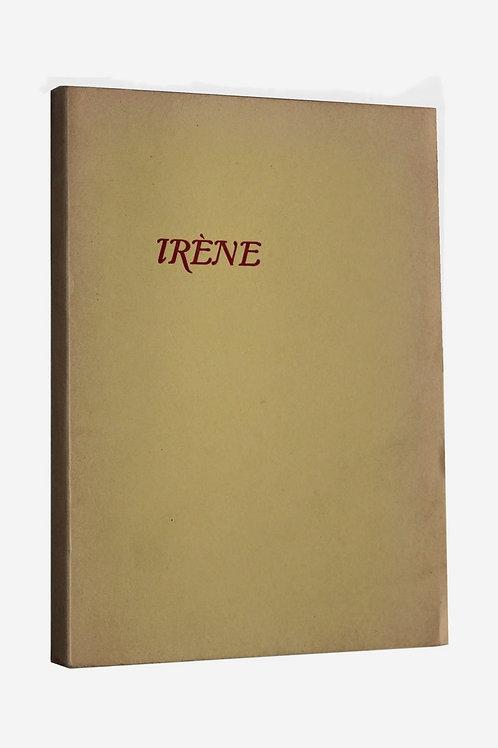 Louis Aragon. Irène. Le Con d'Irène. 1965. Edition clandestine