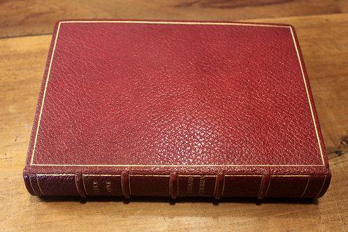 Octave Uzanne. Les Zigzags d'un Curieux (1888). Exemplaire Francisque Sarcey
