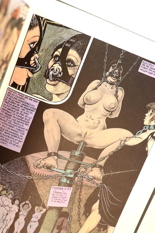 Georges Pichard. Marie-Gabrielle de Saint-Eutrope (1977). BD BDSM Bondage