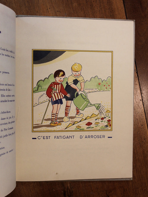 Lucette Chanial. Nos amies les Fleurs (1943). Livre pour enfants illustré