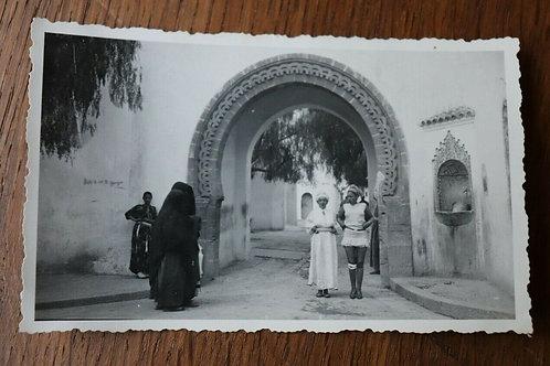 Photo originale vers 1930 Bousbir Casablanca Maroc Afrique