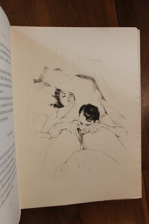 Marcel Valotaire. Gaston de Sainte Croix. Nous Deux (1956). 1/200 ex. Rare