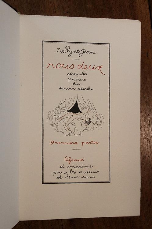 Jean Dulac. Marcel Valotaire. Nous Deux. Nelly et Jean (1930-1940). Rare