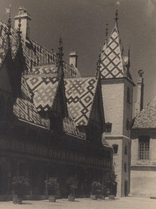 Photographies originales des Hospices de Beaune (Côte d'Or, Bourgogne)