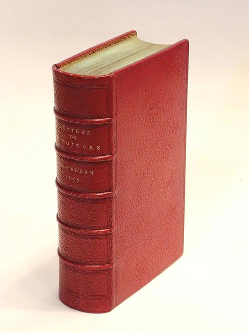 Vincent Voiture. Lettres et poésies. Œuvres (1657-1659). Maroquin de Capé.