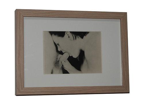 La Flûte enchantée (photographie argentique, 1950). Fellation artistique ...