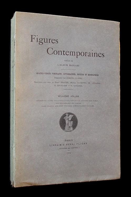 Album Mariani. Figures Contemporaines (1904). 1 des 25 ex. sur Arches avec suite